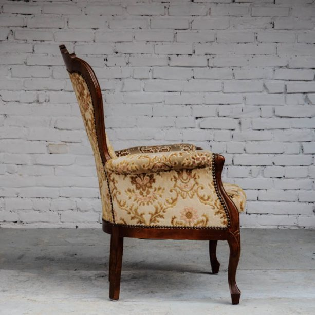 LOUNGECHAIR CHIPPENDALE