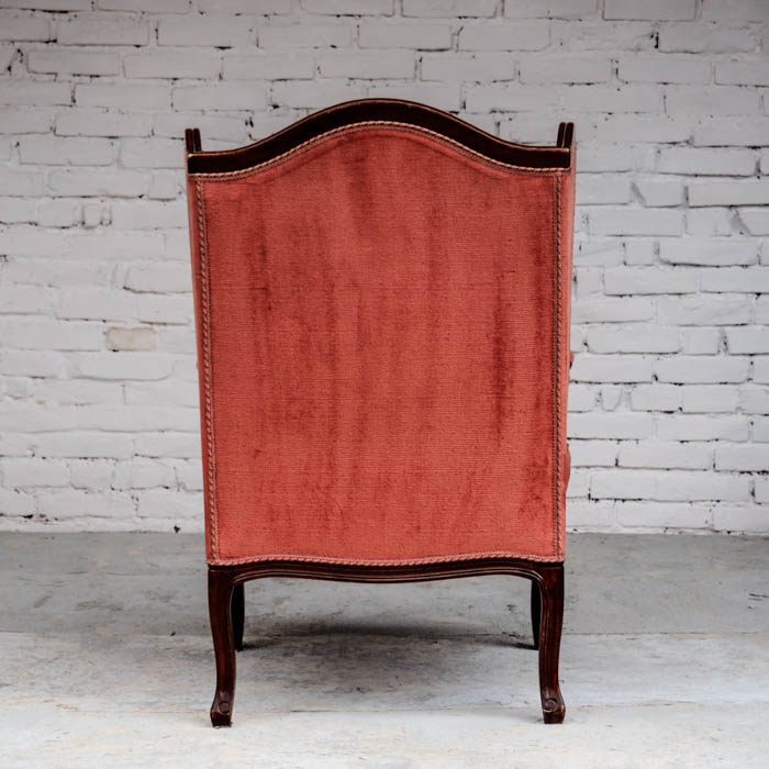 Lounge Sessel Yes Please Rentals Trausessel Traustuhl rot rose