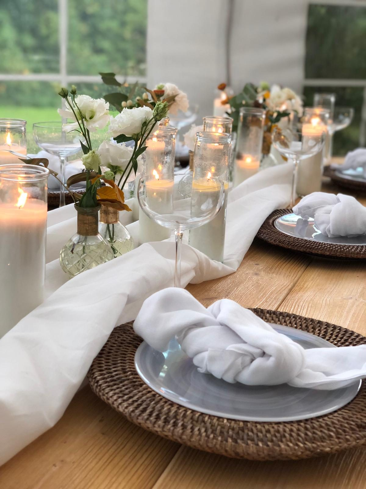 Yes Please Rentals Hochzeit Mietmobiliar mieten windlicht