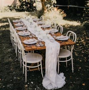 Yes Please Rentals Mobiliar mieten Hochzeit - Gartenparty Paket - White (1) - ICON