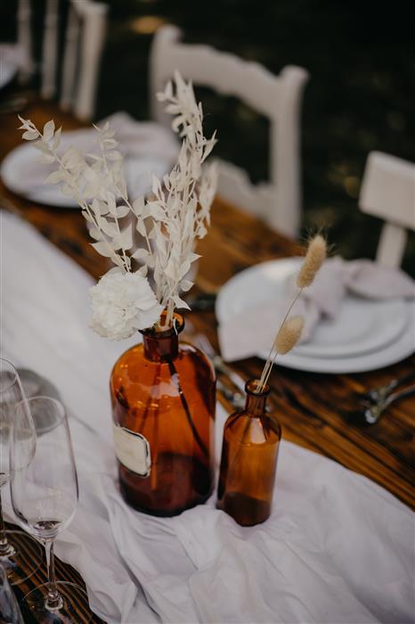 Yes please rentals mietmobiliar mieten deko apothekerflaschen vasen (1)