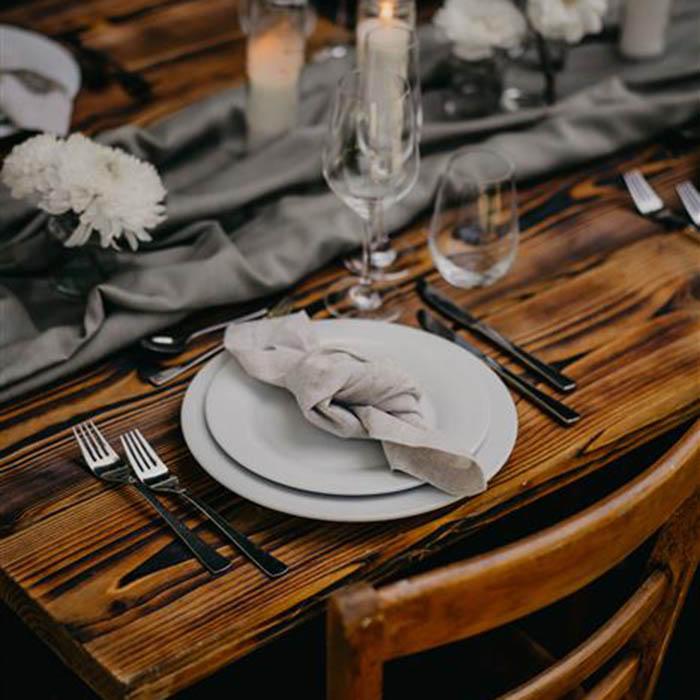 Yes Please Rentals Mobiliar mieten Hochzeit - Leinen serviette_2